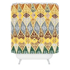 <strong>DENY Designs</strong> Romi Vega Polyester Diamond Tile Shower Curtain