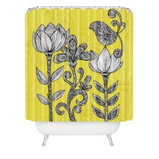 <strong>DENY Designs</strong> Valentina Ramos Polyester Garden Shower Curtain
