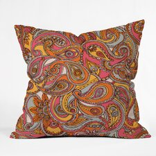 <strong>DENY Designs</strong> Valentina Ramos Spring Paisley Indoor/Outdoor Polyester Throw Pillow