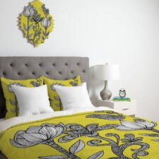 <strong>DENY Designs</strong> Valentina Ramos Green Garden Duvet Cover Collection