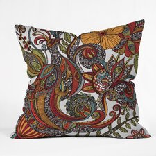 <strong>DENY Designs</strong> Valentina Ramos Paradise Bird Indoor/Outdoor Polyester Throw Pillow