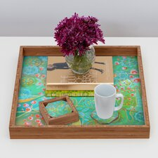 <strong>DENY Designs</strong> Stephanie Corfee Secret Garden Coaster (Set of 4)