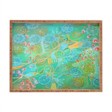 <strong>DENY Designs</strong> Stephanie Corfee Secret Garden Rectangular Tray