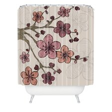 <strong>DENY Designs</strong> Valentina Ramos Polyester Blossom Shower Curtain