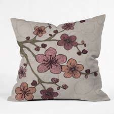 <strong>DENY Designs</strong> Valentina Ramos Blossom Indoor/Outdoor Polyester Throw Pillow