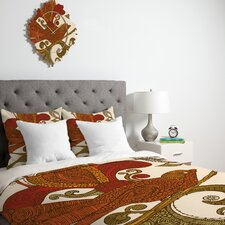 <strong>DENY Designs</strong> Valentina Ramos The Orange Bird Duvet Cover Collection