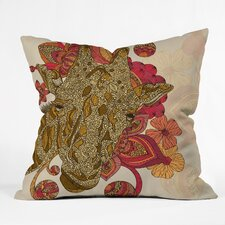<strong>DENY Designs</strong> Valentina Ramos The Giraffe Indoor/Outdoor Polyester Throw Pillow