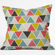 <strong>DENY Designs</strong> Heather Dutton Triangulum Throw Pillow