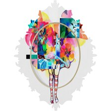 Randi Antonsen Flower Wall Clock