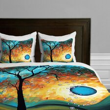 Madart Inc Aqua Burn Microfiber Duvet Cover