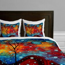 Madart Inc Summer Snow Microfiber Duvet Cover