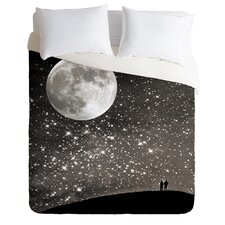 Shannon Clark Love Under the Stars Microfiber Duvet Cover