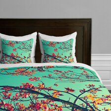Shannon Clark Summer Bloom Microfiber Duvet Cover