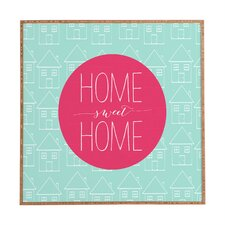 Home Life by Allyson Johnson Framed Graphic Art Plaque