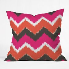Andrea Victoria Summer Tango Chevron Outdoor Throw Pillow