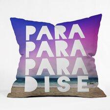 Leah Flores Paradise Outdoor Throw Pillow