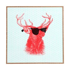 Young Buck by Nick Nelson Framed Graphic Art Plaque