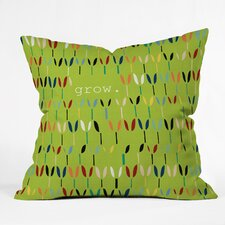 Sharon Turner Grow 1 Outdoor Throw Pillow