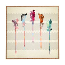Feathered Arrows by Iveta Abolina Framed Graphic Art Plaque