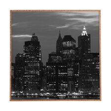 New York Financial District by Leonidas Oxby Framed Photographic Print Plaque
