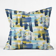 Zoe Wodarz Ikat Outdoor Throw Pillow