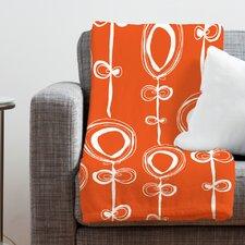 Rachael Taylor Contemporary Polyester Fleece Throw Blanket