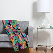 Vy La Love Birds 1 Polyesterr Fleece Throw Blanket