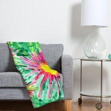 Joy Laforme Floral Confetti Polyester Fleece Throw Blanket
