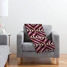 Wagner Campelo Calathea Polyester Fleece Throw Blanket