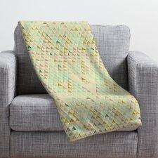 Pattern State Polyester Fleece Throw Blanket