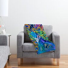 Elizabeth St Hilaire Nelson Cacophony of Color Polyester Fleece Throw Blanket