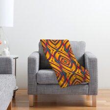 Wagner Campelo Maranta Polyester Fleece Throw Blanket