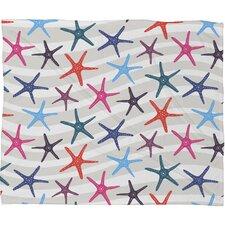 Zoe Wodarz Star Fish Fleece Throw Blanket