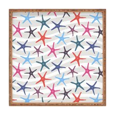 Zoe Wodarz Star Fish Square Tray