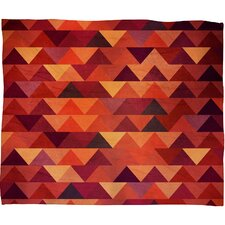 Iveta Abolina Trianglerain Fleece Throw Blanket