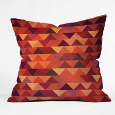 Iveta Abolina Trianglerain Throw Pillow