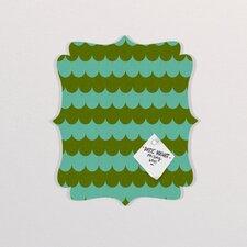 Holli Zollinger Waves of Color Quatrefoil Memo Board