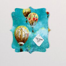 Land Of Lulu Herd of Balloons 2 Quatrefoil Memo Board