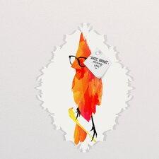 Robert Farkas Punk Bird Baroque Memo Board