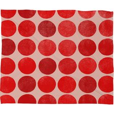 Garima Dhawan Colorplay Plush Fleece Throw Blanket