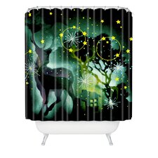 Randi Antonsen Nordic Light Woven Polyester Shower Curtain