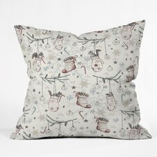 Belle 13 Squirrel Heavenly Christmas Throw Pillow