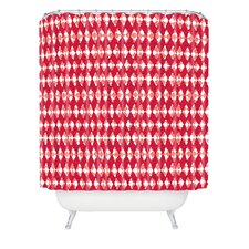 Ingrid Padilla Holiday Woven Polyester Shower Curtain