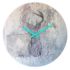 Kent Youngstrom Holiday Deer Wall Clock