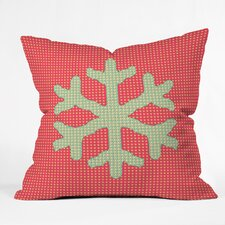 Ingrid Padilla Snowflake Throw Pillow