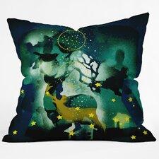 Randi Antonsen The Nordic Night Throw Pillow