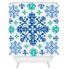 Andi Bird Monstrous Woven Polyester Shower Curtain