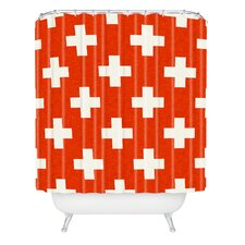 Holli Zollinger Vermillion Plus Woven Polyester Shower Curtain