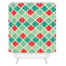 Holli Zollinger Gypsy Stars Woven Polyester Shower Curtain