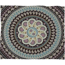 Belle13 Mandala Paisley Polyester Fleece Throw Blanket
